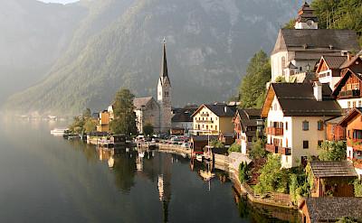Hallstatt on the Hallstätter See. Photo by Patrick Hickey