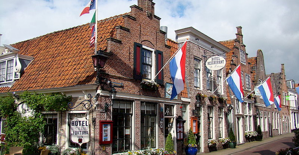 Edam has beautiful architecture as well as great cheese. Photo courtesy of the Netherlands Board of Tourism