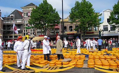 Cheese market (Kaasmartkt) in Alkmaar. Photo courtesy of the Netherlands Board of Tourism