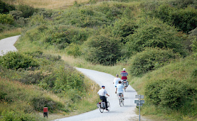 Great biking through the dunes on this bike tour. Photo courtesy of the Netherlands Board of Tourism