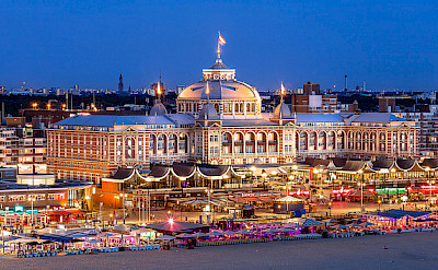 Kurhaus at the popular beach resort of Scheveningen, the Netherlands. Photo via Flickr:Christopher A Dominic