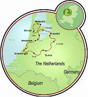 Holland Polderland Map