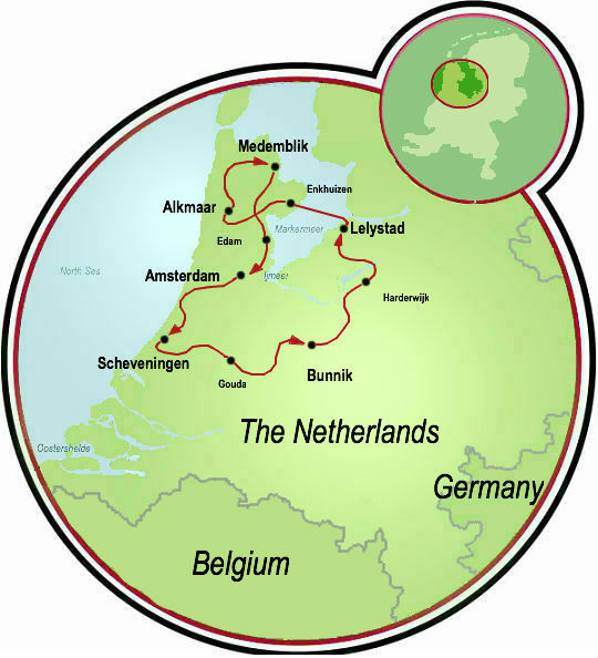 Holland Polderland Road Bike Tour Netherlands Tripsite