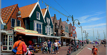 Bike rest in Volendam. Photo via Flickr:Jose A.