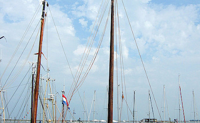 Boats in Volendam, the Netherlands. Photo via Flickr:taqpets