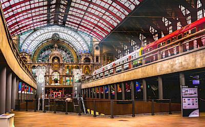 Train station in Antwerp, Belgium. Photo via Flickr:Gregorio Pugabailon