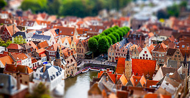 Gorgeous Bruges will leave an impression. Photo via Flickr:Andres Nieto Porras