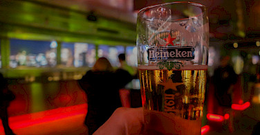 Cool Heineken awaits after a biking day. Photo via Flickr:Brandon