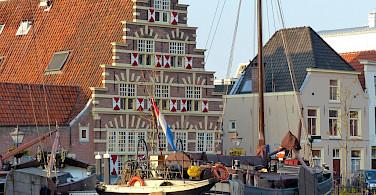 Old Harbor in Leiden, the Netherlands. Photo via Flickr:Roman Boed