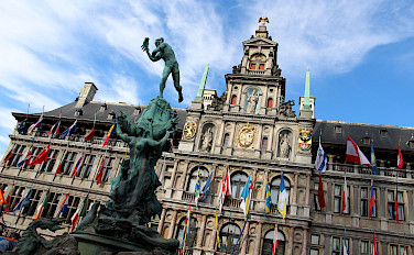 Stadhuis in Antwerp, Flanders, Belgium. Photo via Flickr:Fred Romero