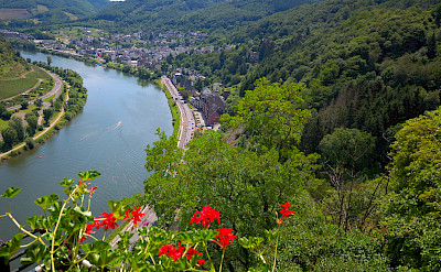 View from Reichsburg Castle in Cochem, Germany. Flickr:Random fotos