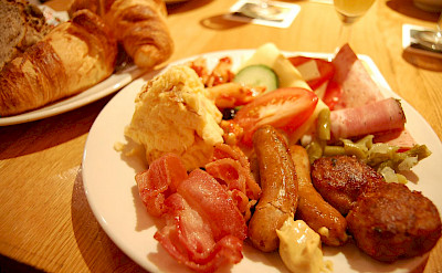 Traditional breakfast in Mainz, Germany. Flickr:Yusuke Kawasaki