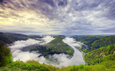 Near Merzig on the Saar River, Germany. Flickr:Wolfgang Staudt
