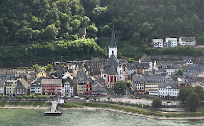 St Goar along the Rhine River, Germany. Flickr:MPrinke