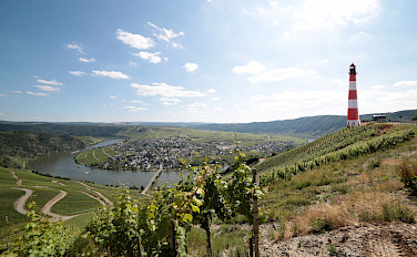 Along the Mosel River in Traben-Trarbach, Rhineland-Palatinate, Germany. Photo via Flickr:Mark Strobl