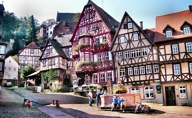 Miltenberg - photo via Flickr:yilmaz ovunc