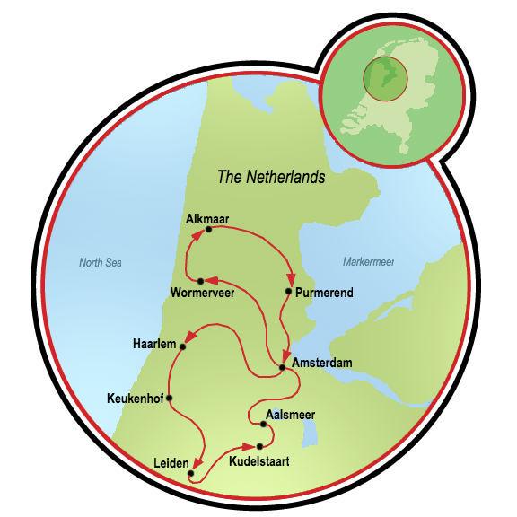 Super Tulip Bike and Barge Tour - Netherlands | Tripsite on netherlands holland map, giethoorn holland map, zeeland holland map, edam holland map, maastricht holland map, amersfoort holland map, scheveningen holland map, amsterdam holland map, arnhem holland map, rotterdam holland map, europe holland map, leiden holland map, utrecht holland map, nijmegen holland map, hillegom holland map, eindhoven holland map, leeuwarden holland map, randstad holland map, delft holland map, haarlem holland map,
