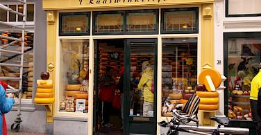 "''t Kaaswinkeltje"" in Gouda, South Holland, the Netherlands. Photo courtesy of Jantien Wondergem from the Merlijn ship."