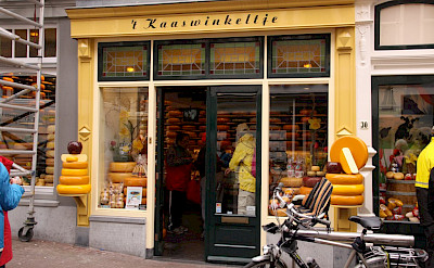 "''t Kaaswinkeltje"" in Gouda, South Holland, the Netherlands. Photo courtesy of Jantien Wondergem from the Merlijn ship."