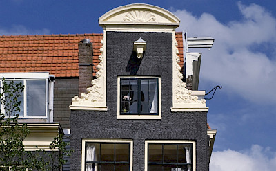 Beautiful gables in Amsterdam - Prinsengracht. Photo via Netherlands Board of Tourism.
