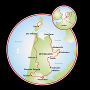 Tesouros da Holanda Mapa