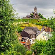 View of Reichsburg in Cochem, Germany. Flickr:Jodage