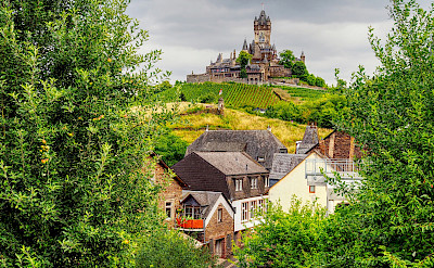 View of Reichsburg in Cochem, Germany. Flickr:Jodage