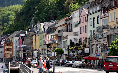Houses line the streets of Cochem, Germany. Flickr:Julie Corsi