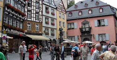 Marktplatz sightseeing in Cochem, Germany. Flickr:Roman Tikgeist