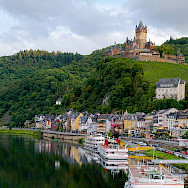 Wine-centered town of Cochem, Germany. Wikimedia Commons:Kai Pilger
