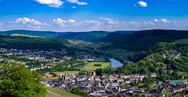 Saarburg Valley, Germany. Photo via Flickr:Gilbert Sopakuwa