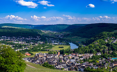 Biking through Saarburg Valley, Germany. Flickr:Gilbert Sopakuwa