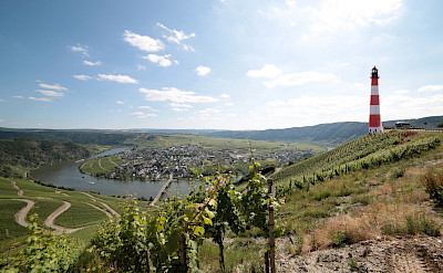 Traben-Trarbach along the Mosel amidst vibrant vineyards in Germany. Flickr:Mark Strobl