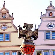 Market cross in Trieir, Germany. Flickr:Dennis Jarvis