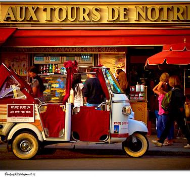 Strolling through Paris, France. Photo via Flickr:Moyan Brenn