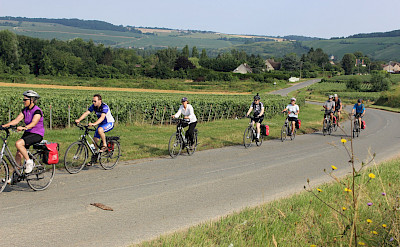 Biking the Champagne, France tour. ©TO