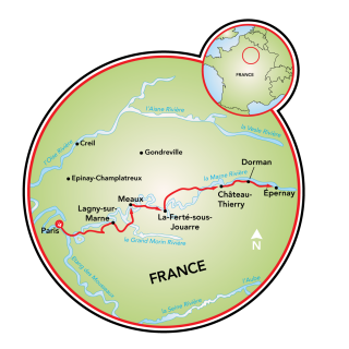 Tour por Champagne Map