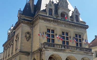 Chateau Thierry Hotel de Ville City Hall in France. ©TO