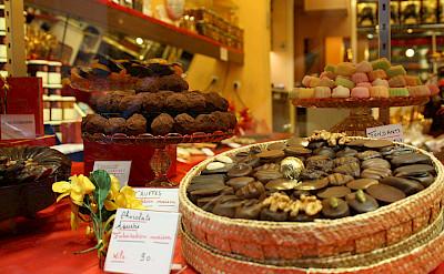 Chocolaterie Shop on Rue du Faubourg in Paris, France. CC:Paris Sharing