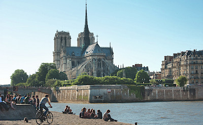 Notre Dame in Paris, France. ©TO