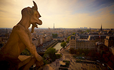 View from Notre Dame Cathedral, Paris, France. Flickr:Moyan Brenn