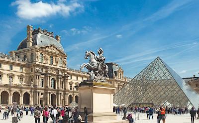 Paris Musée de Louvre in France. ©TO