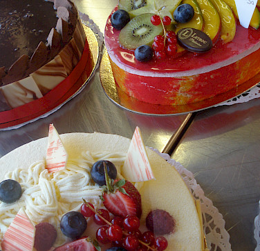 Patisserie in the Champagne-Ardenne region, France. Photo via Flickr:Christian Guthier