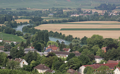 Champagne countryside in France. ©TO