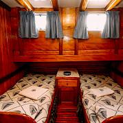 Twin Cabin | Maria Giovanna | Bike & Boat Tours