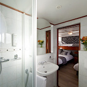 Bathroom twin cabin