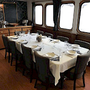 Restaurant on Magnifique | Bike & Boat Tours