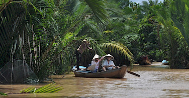Mekong Delta, Vietnam. Photo via Flickr:David McKelvey