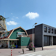 Biking through Aalsmeer, North Holland. Photo via Flickr:Benkraan Architecten BNA