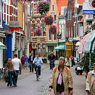 Kleine Houtstraat in Haarlem, the Netherlands. Wikimedia Commons:Marek Slusarczyk